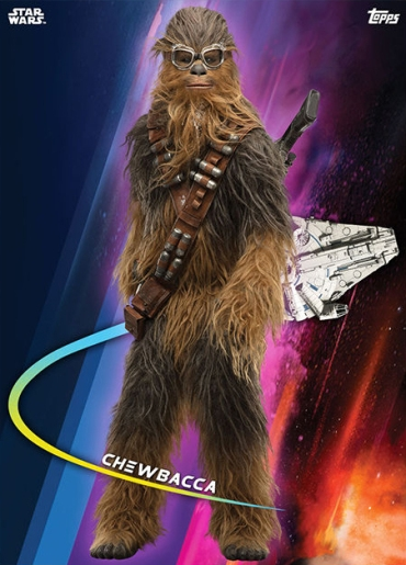 Topps Star Wars Card Trader Solo A Star Wars Story Chewbacca 1