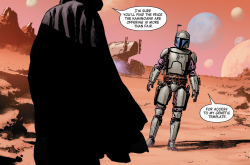 Jango Fett Meets With Dooku