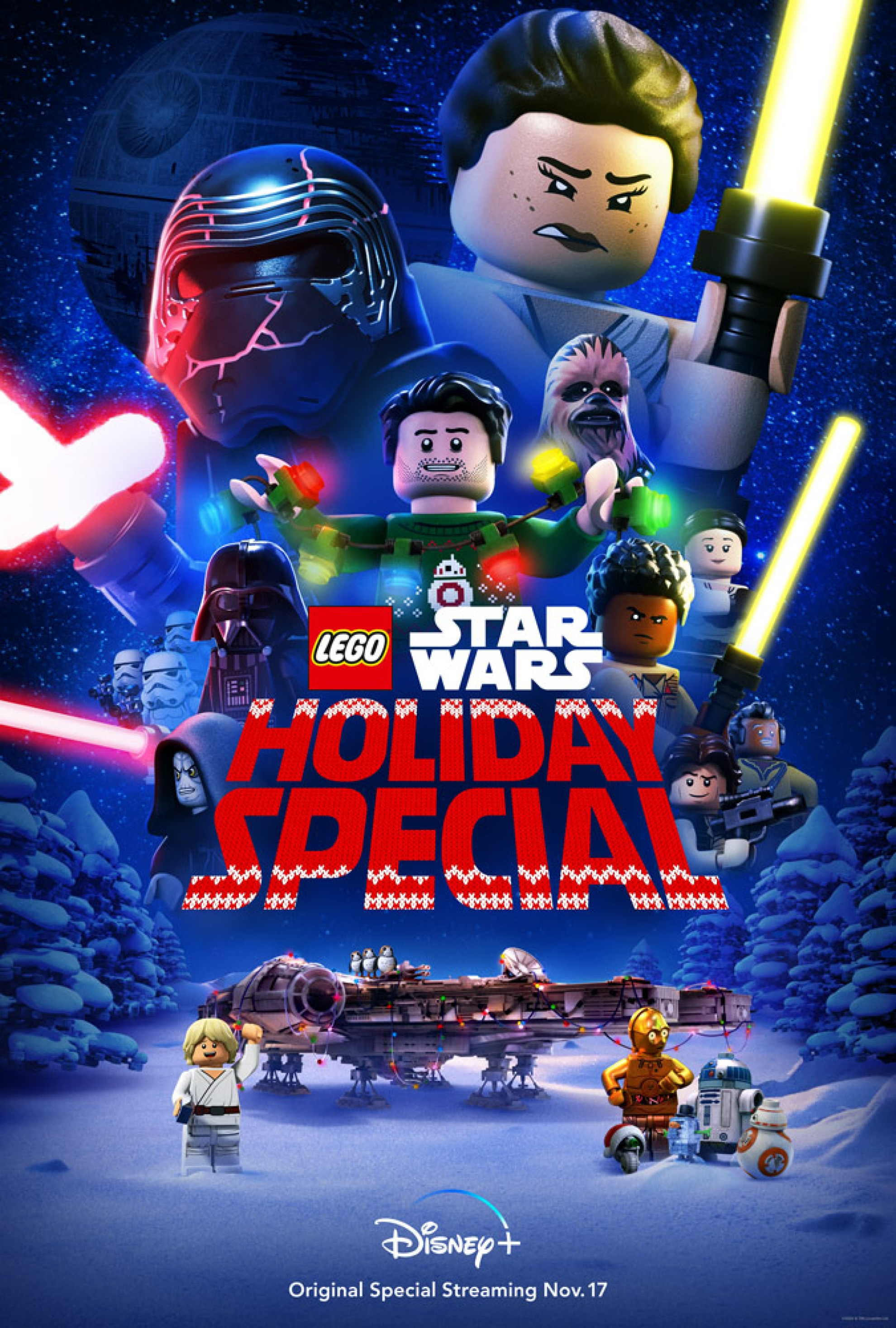 The Lego Star Wars Holiday Special Poster 73rg8487
